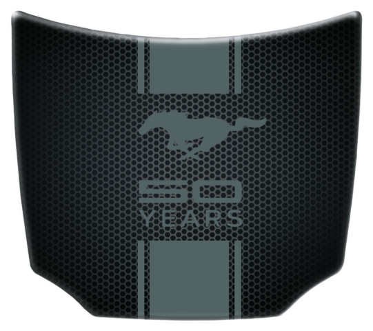 Ford Mustang 50th hood