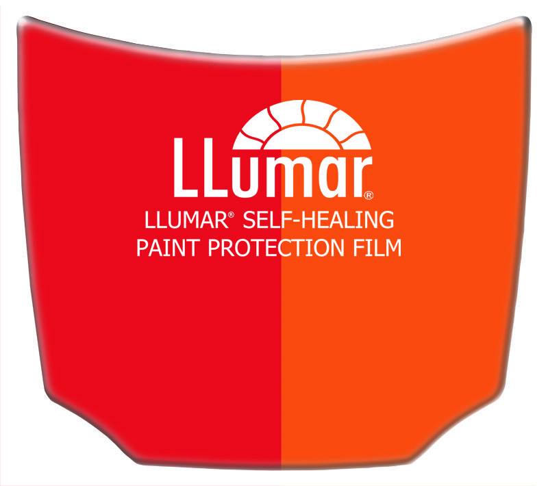 Llumar Custom Mini Hood Replica - MiniHoods.com