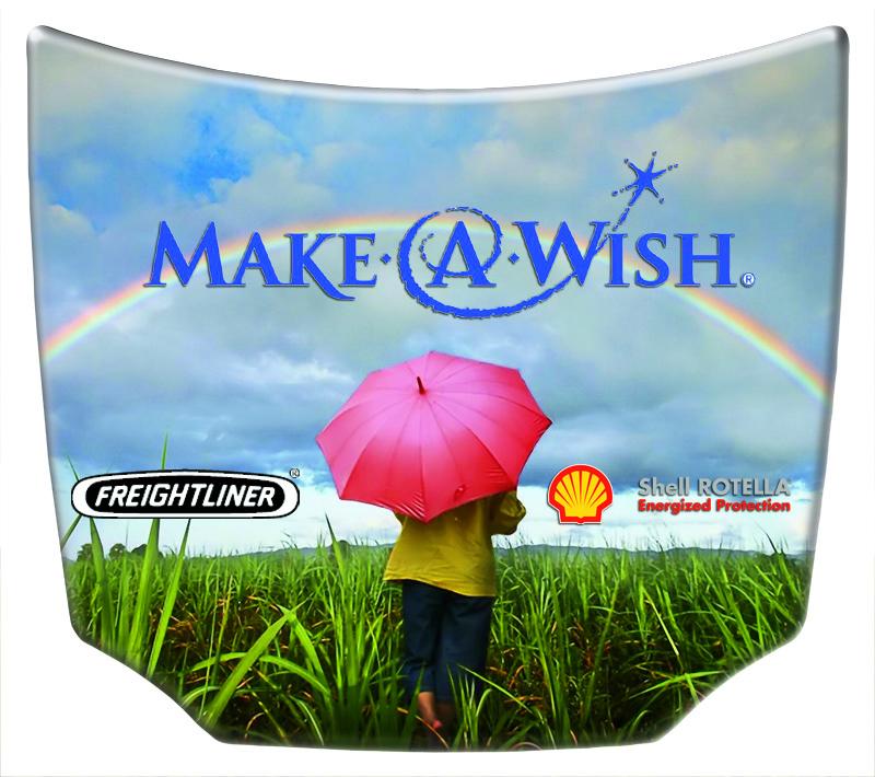 make a wish Custom Mini Hood Replica - MiniHoods.com