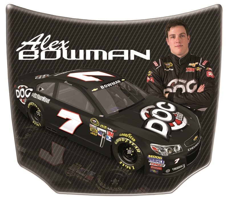 Alex Bowman Replica Mini Car Hoods – MiniHoods.com