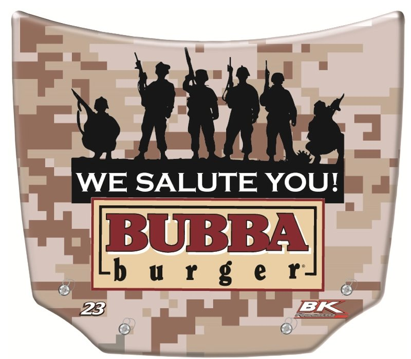 Bubba burger Replica Mini Car Hoods – MiniHoods.com