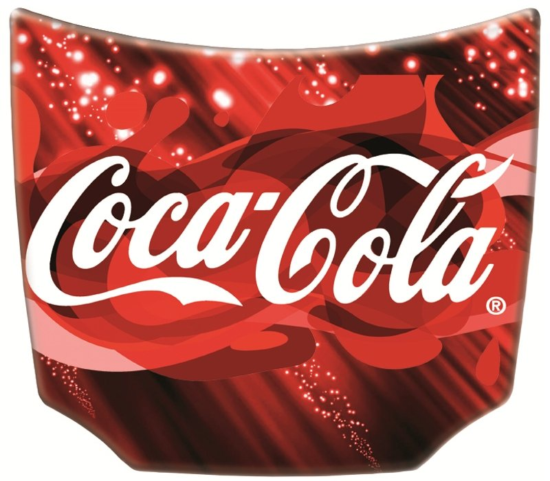 Coca Cola Mini Car Hoods