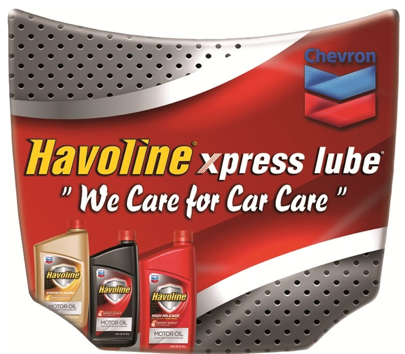 Havoline Xpress Lube Mini Car Hood