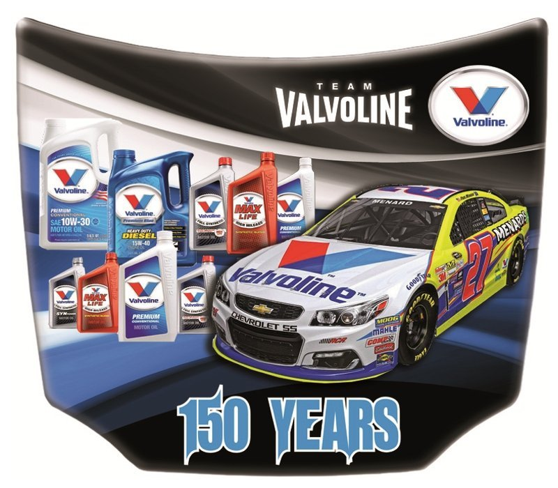 Valvoline Custom Mini Car Hoods